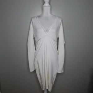 Charlotte Russe women off-white dress SZ XL